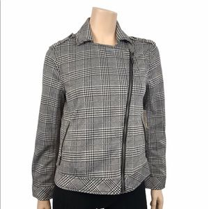 Two Vince Camuto Women's Plaid Zippered Blazer NWT